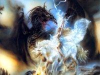 Unikornis, egyszarvú - a Természet erejét megtestesítő égi ló